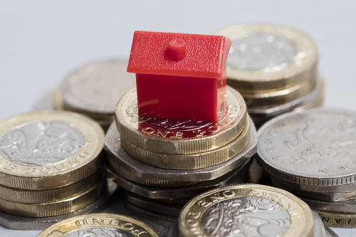 A photo of money and a house linking to a page about support for residents