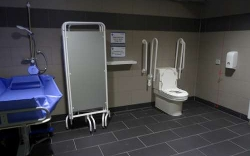 Image of the Changing Place Toilet at Middlesbrough Sports Village