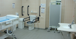 Image of the Changing Place Toilet at Neptune Centre