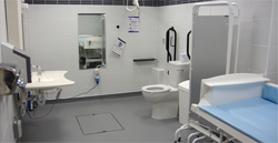 Image of the Changing Place Toilet at Rainbow Centre