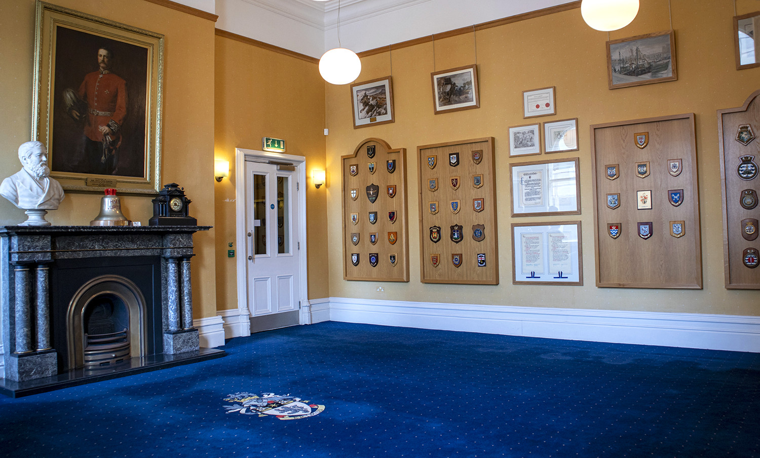 A photo of the Civic suite