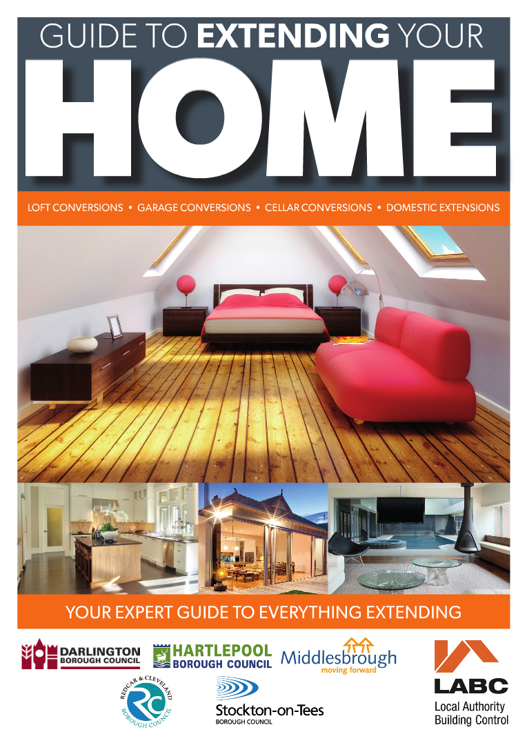 Cover image for the Guide to extending your home