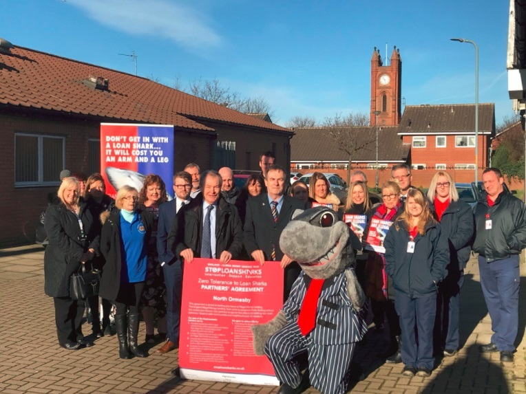 Middlesbrough Charter Signing to stop loan sharks
