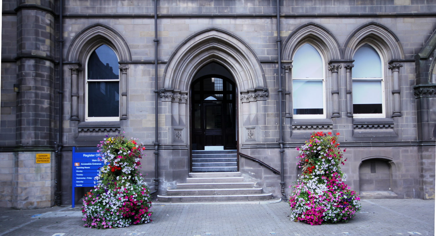 outside view of the Middlesbrough Register Office