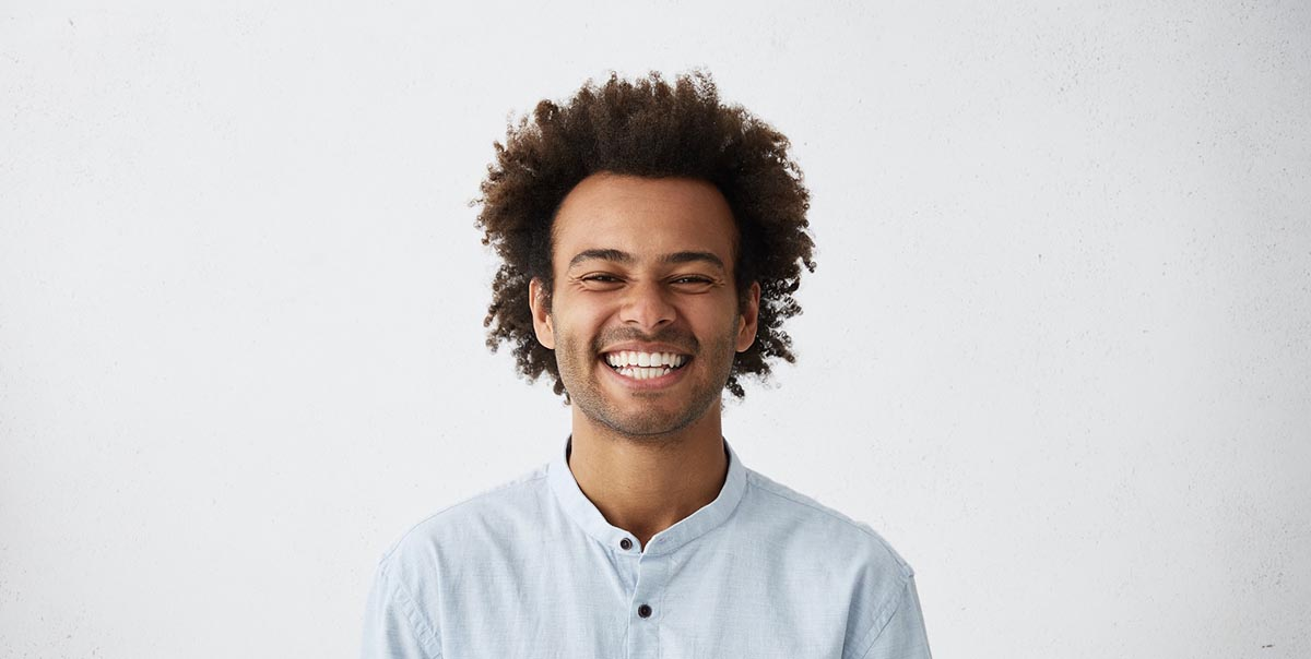 Image of a smiling man