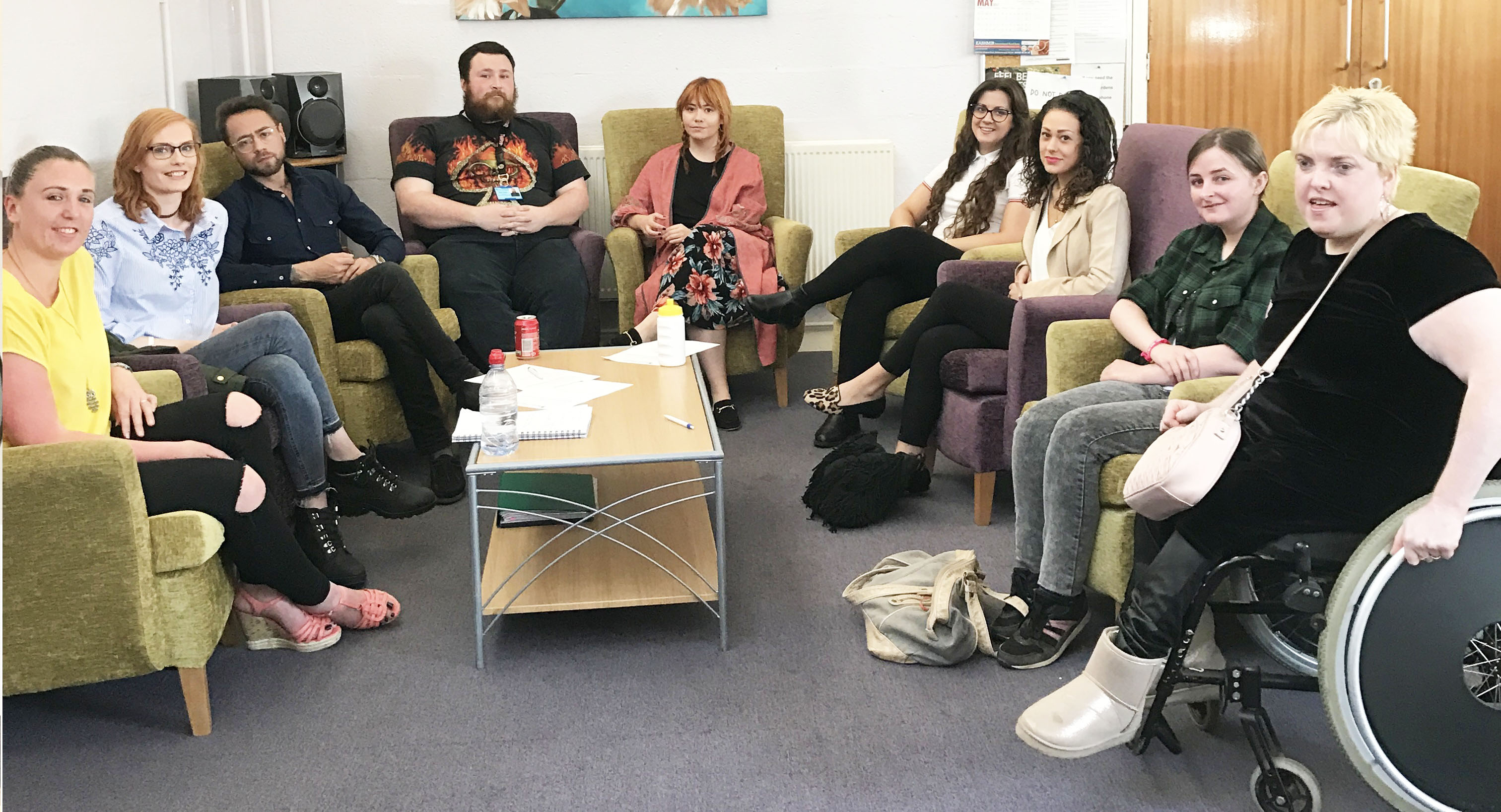 Volunteers get together to make mental health an everyday subject