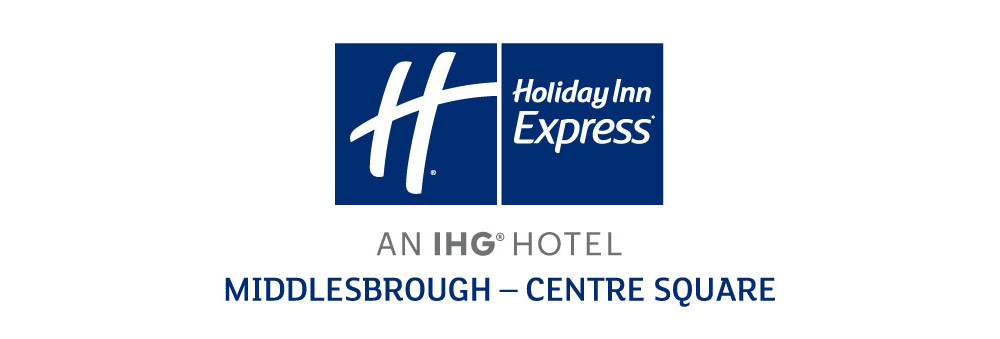 Logo for sponsor Holiday Inn Express Middlesbrough linking to their website