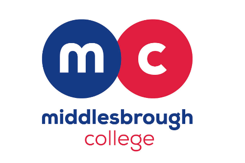 Middlesbrough College logo linking to the Middlesbrough College website