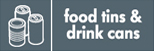 food tins and drink cans image