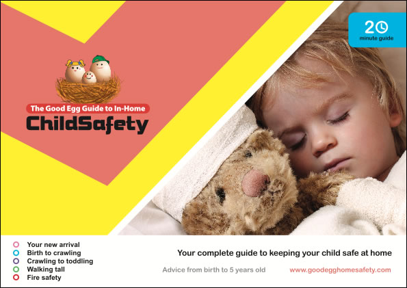 Picture of the child safety at home guide linking to the child safety at home guide