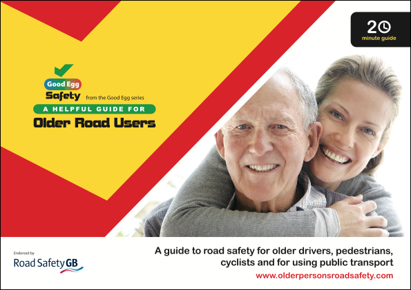 Picture of the older road users guide linking to the older road users guide