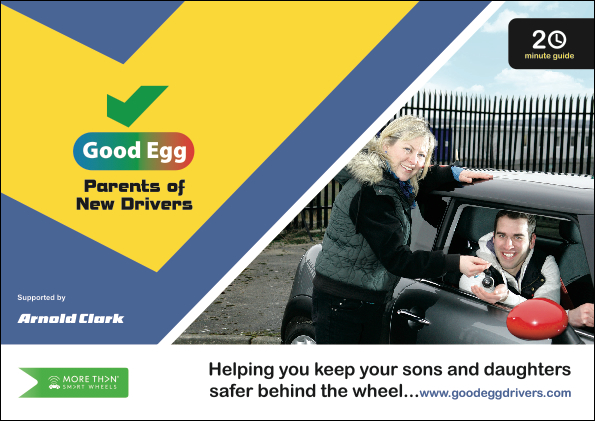 Picture of the parents of new drivers guide linking to the parents of new drivers guide