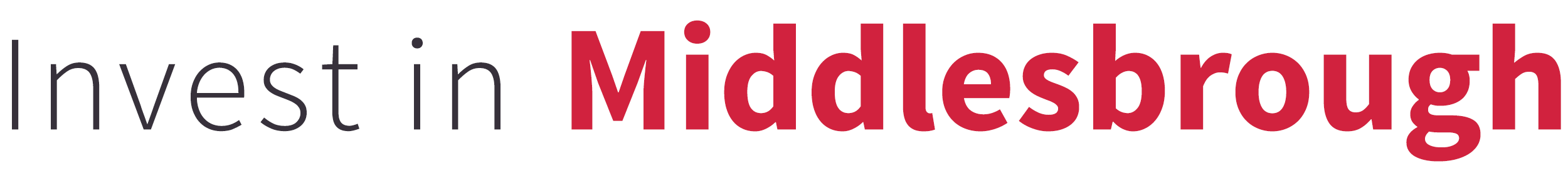 Invest in Middlesbrough logo