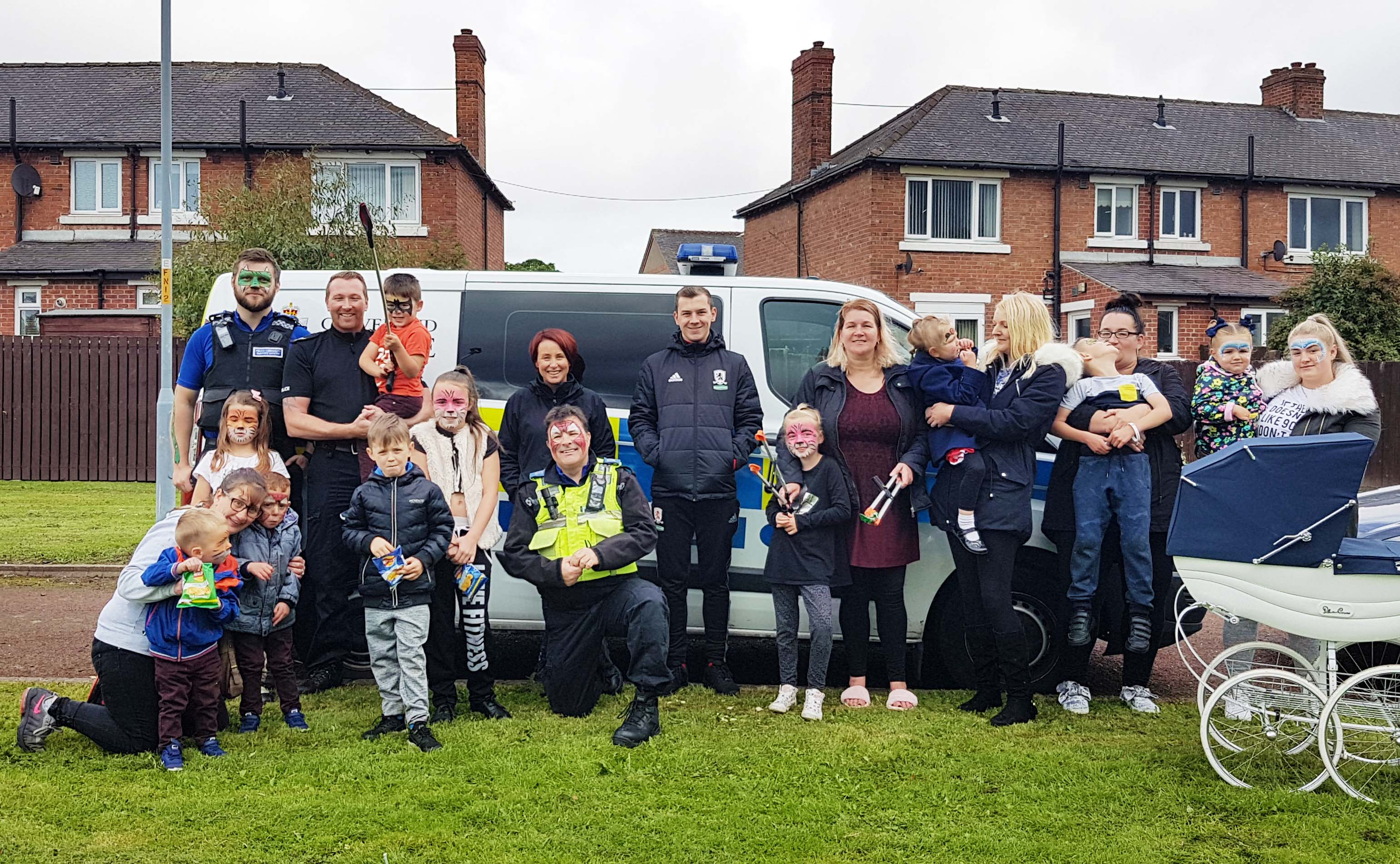 Local residents and agencies celebrate a summer of community action at the Thorndyke Avenue Family Fun Day.