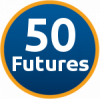 50 Futures work experience programme icon