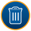 Bins and Recycling Icon